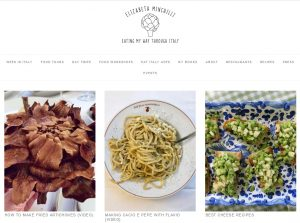 Top Italian Food Blogs - Elizabeth Minchilli
