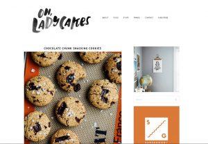 Top Vegan Food Blogs - Oh Ladycakes