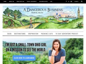 Top Solo Female Travel Blogs - A Dangerous Business