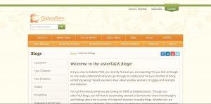 Top Diabetes Blogs - Diabetes Sisters