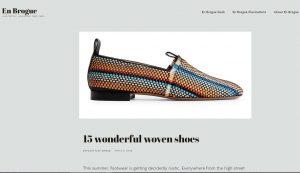 Top Shoe Blogs - En Brogue
