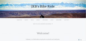 Top Cycling Touring Blogs - JKB's Bike Ride