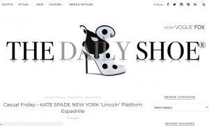 Top Shoe Blogs - The Daily Shoe