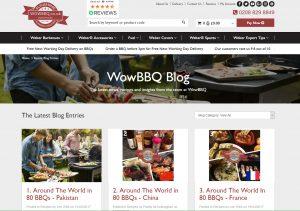 Top BBQ Blogs - Wow BBQ