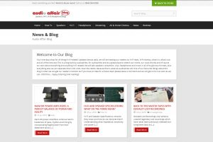 Top Hi-fi Blogs - Audio Affair Blog