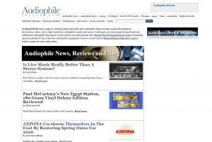 Top Hi-fi Blogs - Audiophile Review