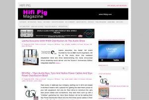Top Hi-fi Blogs - Hifi Pig