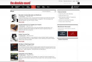 Top Hi-fi Blogs - The Absolute Sound