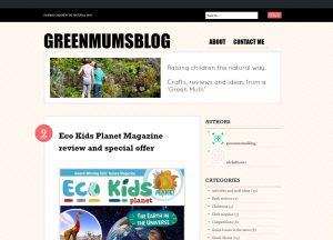 Top Recycling Blogs - Green Mums
