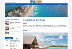 Top Winter Travel Blogs - Travel Republic