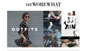 Top Fashion Blogs - Weworewhat
