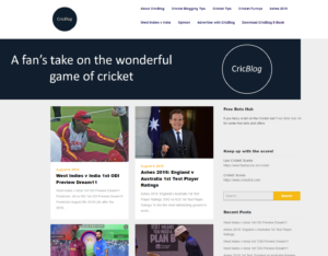 Top Cricket Blogs - CricBlog