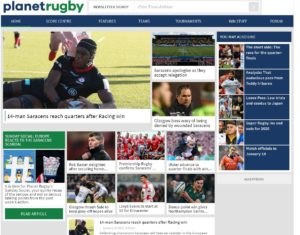 Planet Rugby - Top Rugby Blogs