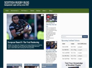 Scottish Rugby Blog - Top Rugby Blogs