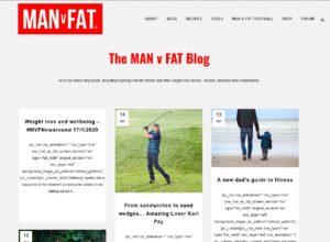 Top Diet Blogs - Man v Fat