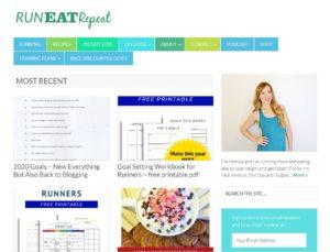 Top Diet Blogs - Run Eat Repeat