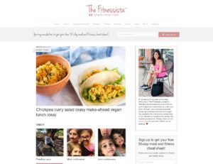 Top Diet Blogs - The Fitnessista
