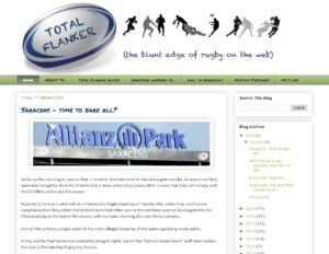 Total Flanker - Top Rugby Blogs