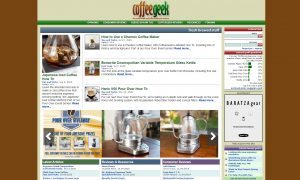 Top Coffee Blogs - CoffeeGeek